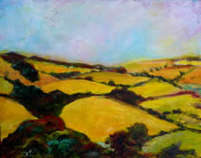 Yellow Fields and Hedgerows